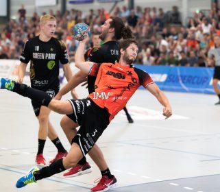 Supercup heren Aalsmeer- Volendam 25 augustus 2019 eindstand 28-27