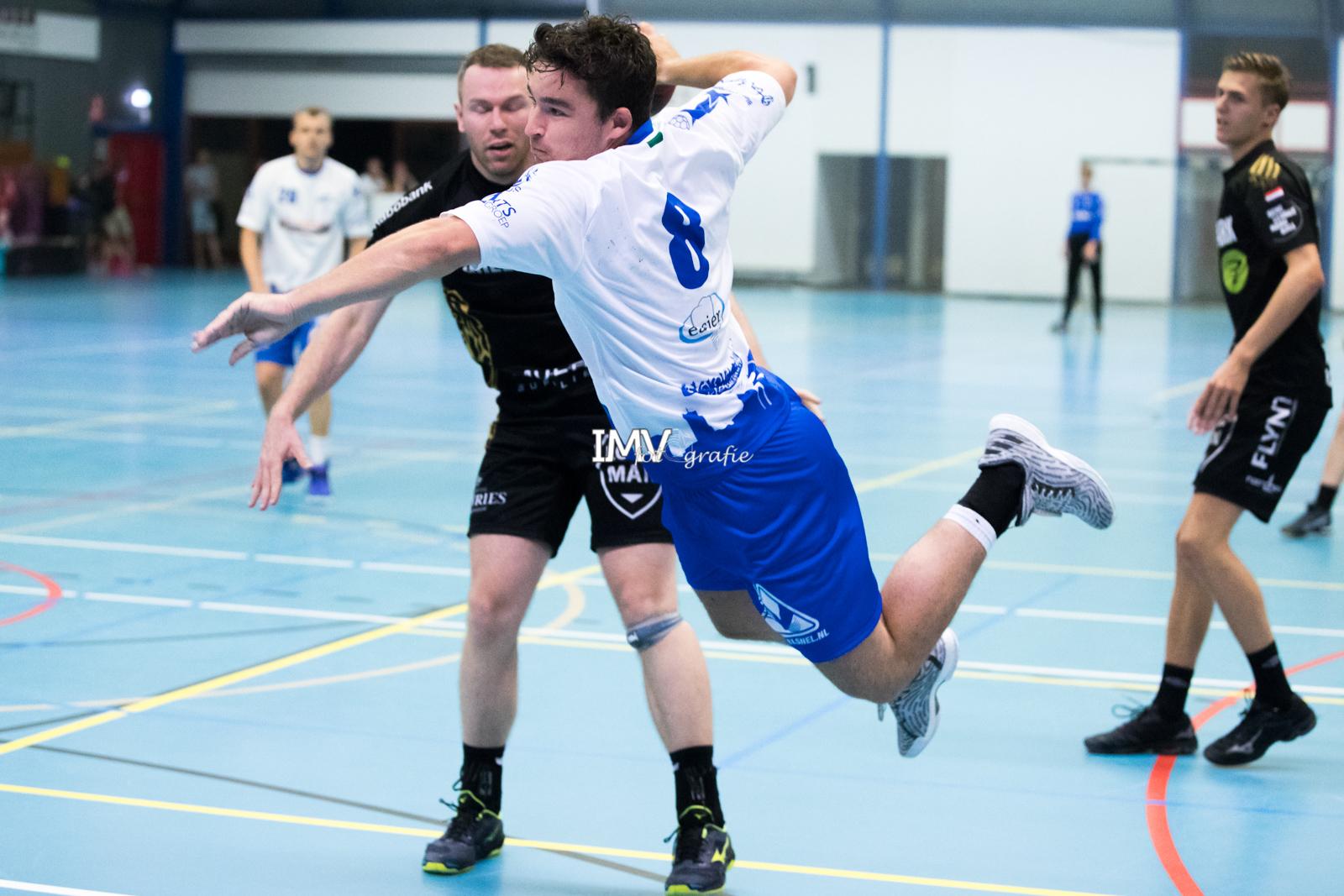 Ere divisie heren  Hellas -Aalsmeer 31 augustus 2019 eindstand 29-30