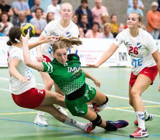EHF CUP dames  HIFK HELSINKI – Quintus      8 september 2019 eindstand 19-17