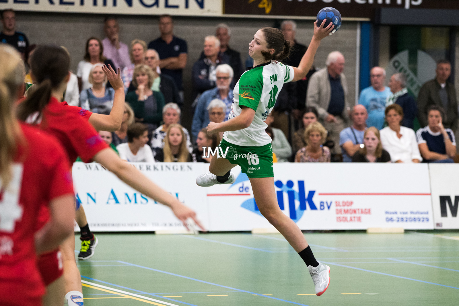 EHF CUP dames Quintus – HIFK HELSINKI 7 september 2019 eindstand 28-19