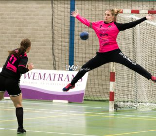 Ere divisie dames Quintus – Borhave 09-11-2019 eindstand 22-19