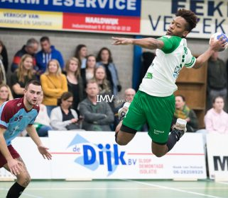 Ere divisie heren Quintus – DFS Arnhem 16-11-2019 eindstand 32-26