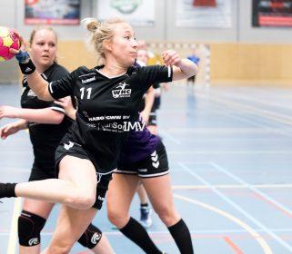 1e klasse dames WHC Den Haag – ROAC 23-11-2019