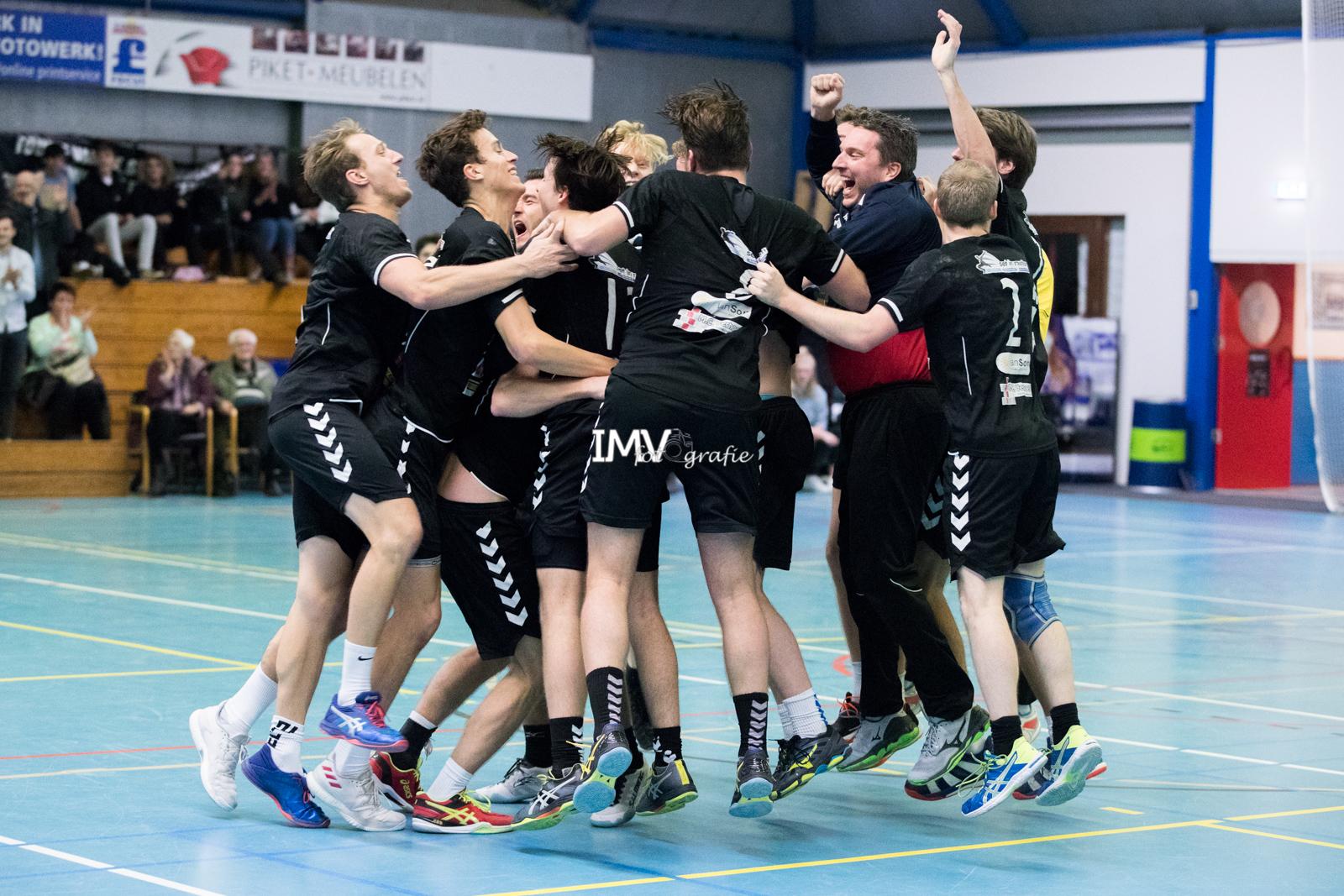 Ere Divisie heren Hellas – WHCHercules 14-12-2019 eindstand 28-29
