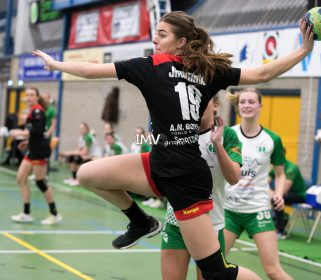 Ere divisie dames Quintus-VZV 04 januari 2020 eindstand 19-23