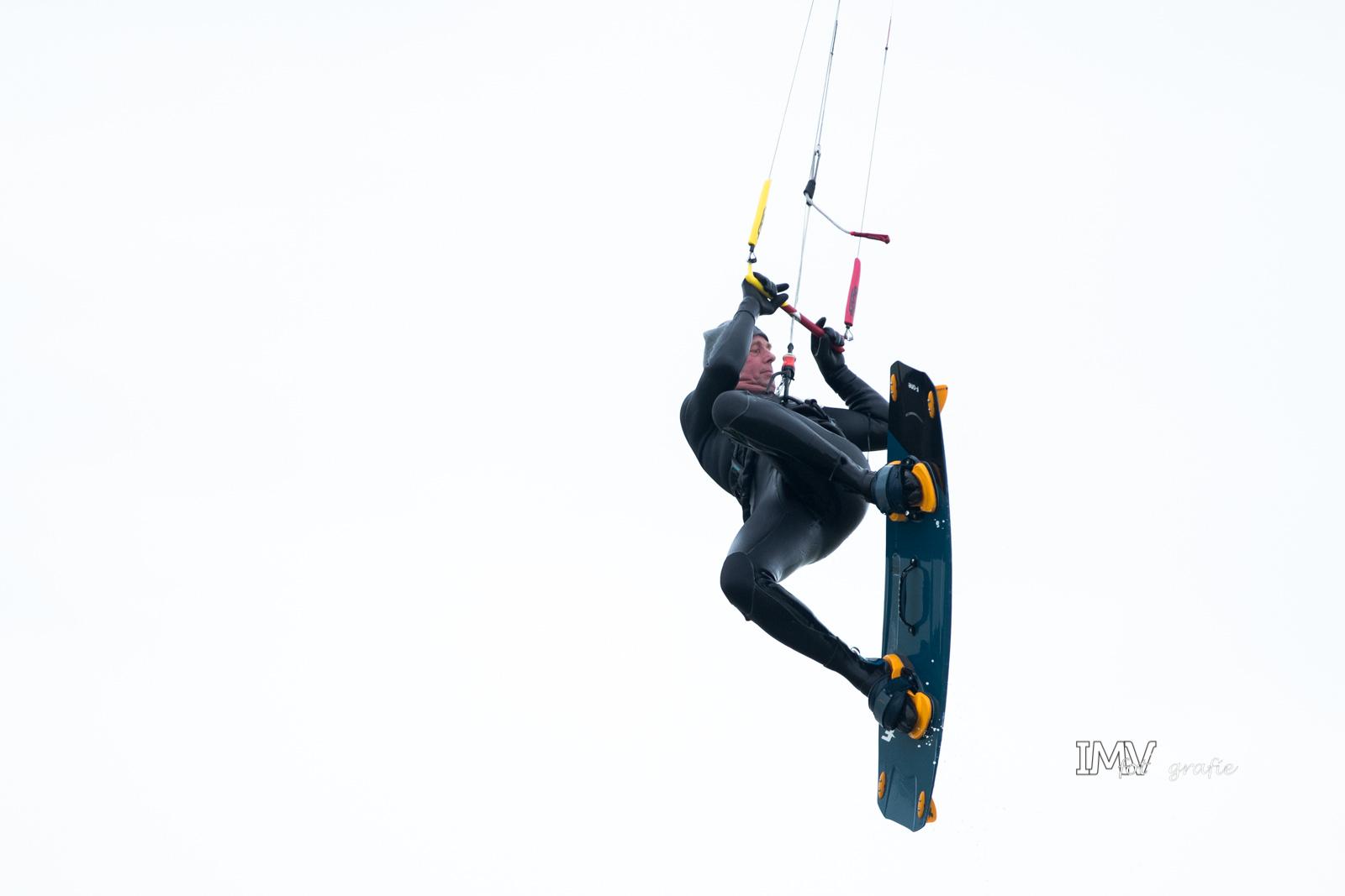 Kitesurfen zandmotor 22 februari 2020